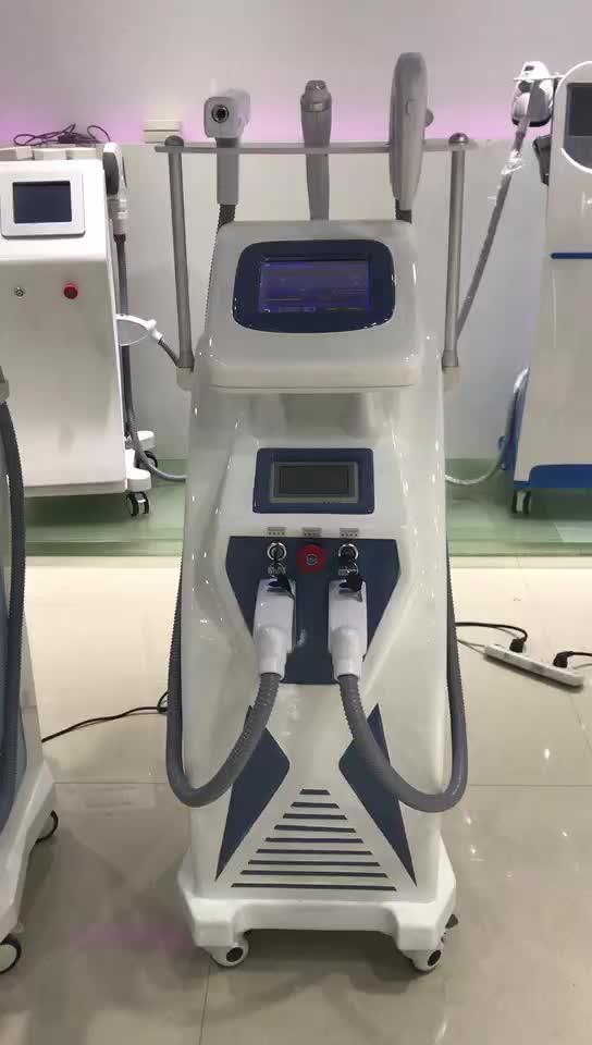 Most popular beauty equipment 3000w imported lamp 1-10hz elight ipl shr opt hair removal depilacion laser for salon / clinic