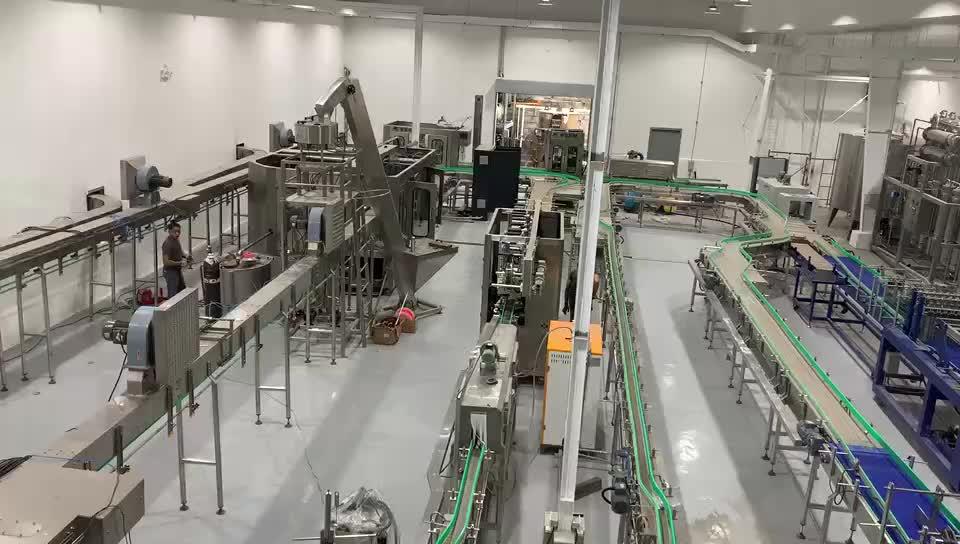 Мини бутылка минеральная вода наполнение упаковочная машина производственная машина линия завод Проект Машина