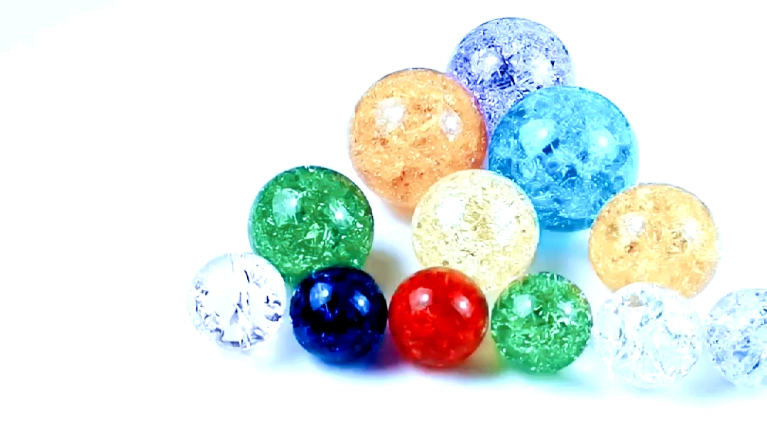 Wholesale Colorful Crack 80mm K9 Crystal Ball/K9 Solid Red Pink Green Crystal Ball /Blue Purple Glass Sphere Crystal Ball