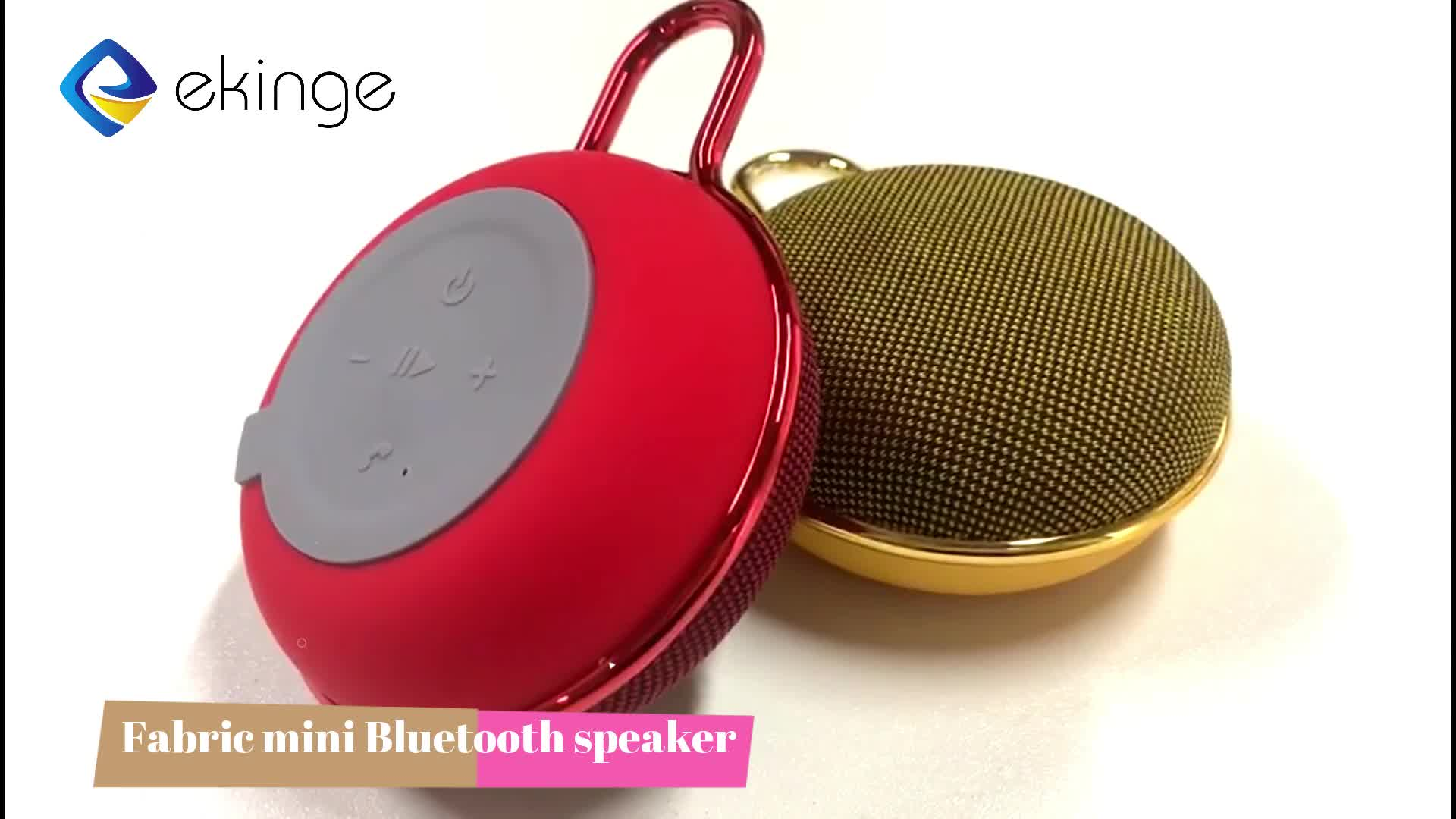 High quality 2019 new trend Mini Wireless Bluetooth music play loudspeaker gifts wholesale Bluetooth speaker