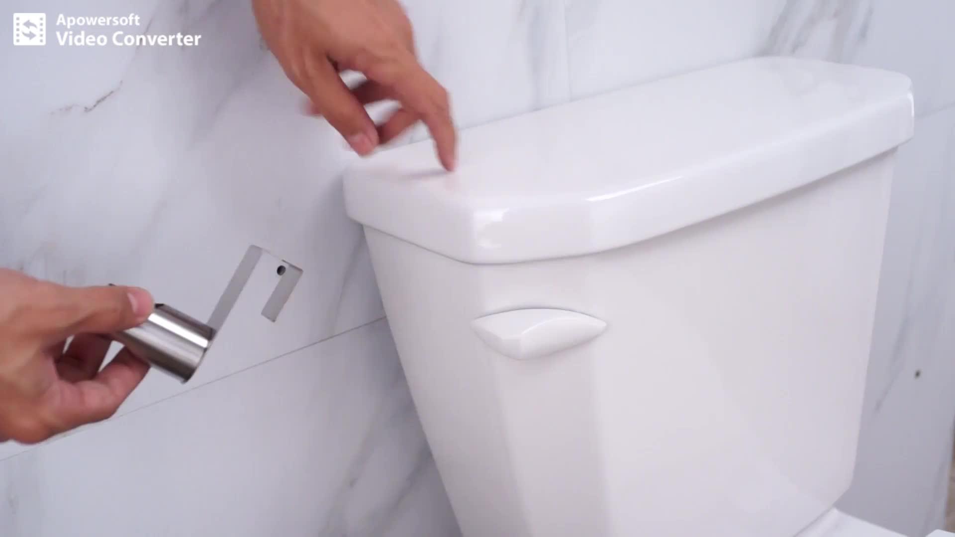 浴室配件便携式旅行 shattaf 黄铜健康水龙头不锈钢 Shattaf 手坐浴盆喷雾器