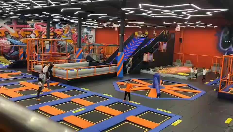 410 square meter adults indoor trampoline parks for sale