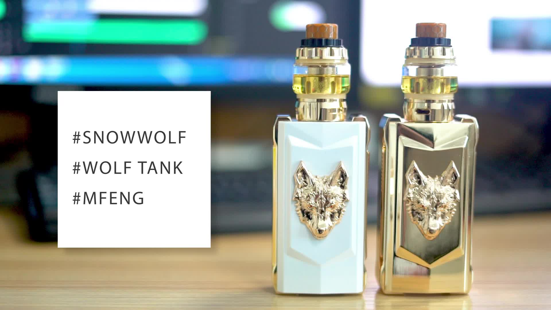 factory outlet in stock sigelei snowwolf mfeng kit 200w electronic