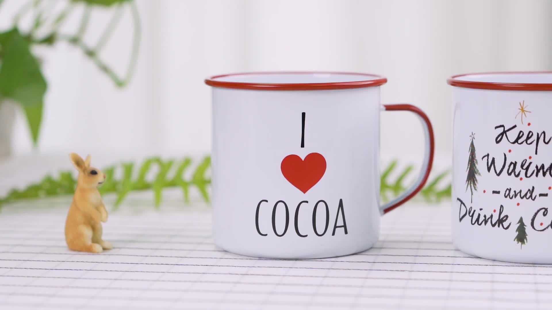 cheap enamel mug  Coffee Mug With Handle