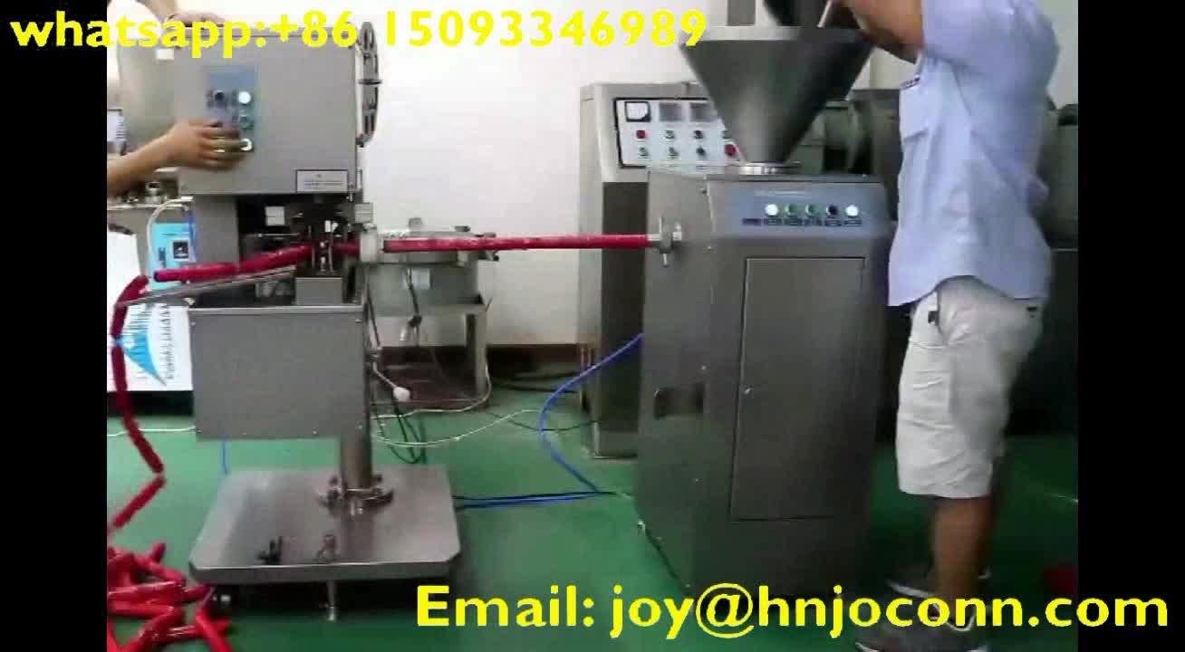 Automatica salsiccia di riempimento e di clipping macchina/salsiccia tagliatore