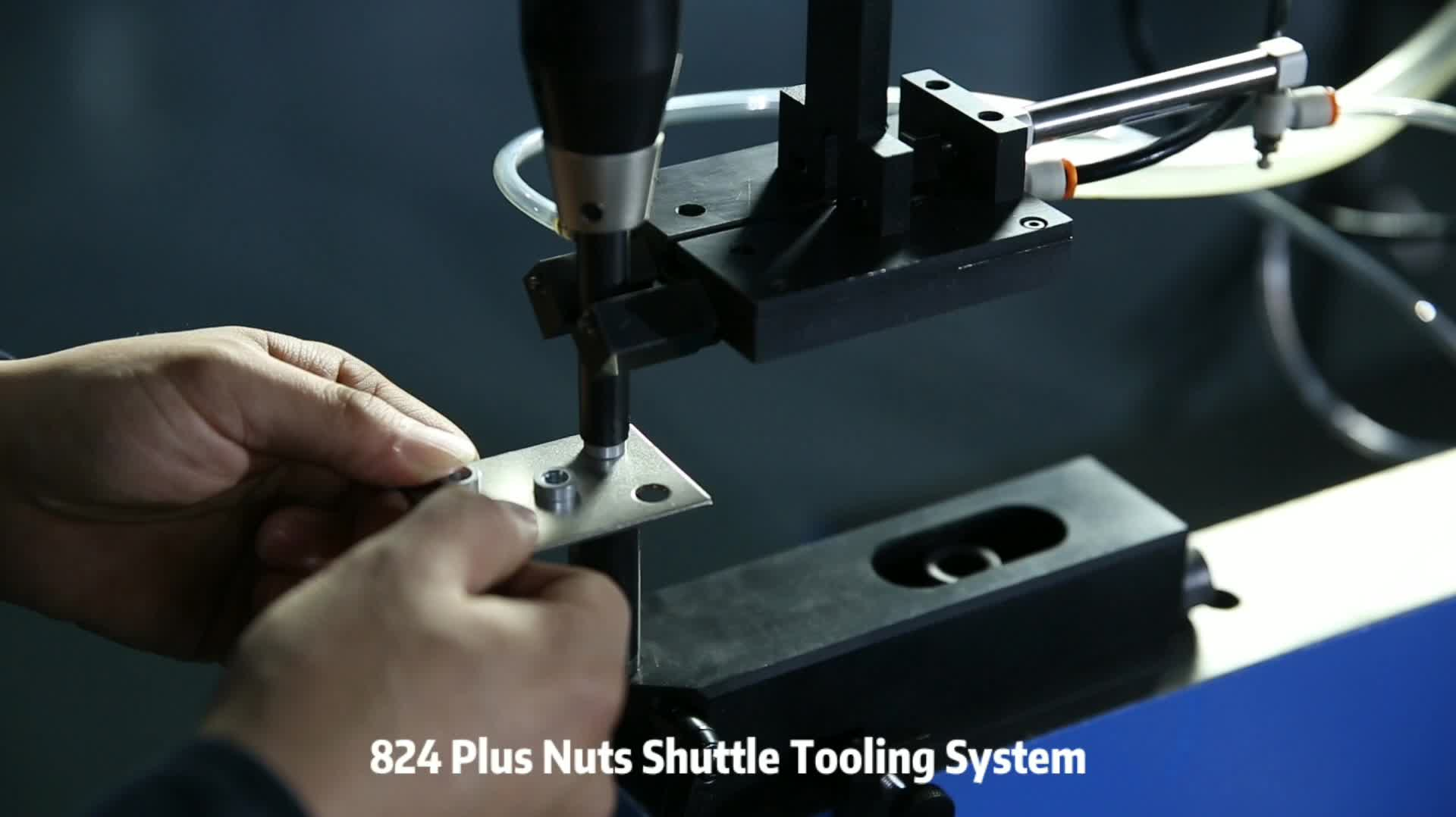 Auto Tooling System For Sheet Metal Screw Mount Machine