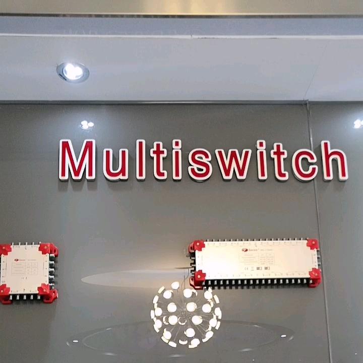 13X8 캐스케이드 위성 Multiswitch LED 13 입력 8 출력 MS-1308LC