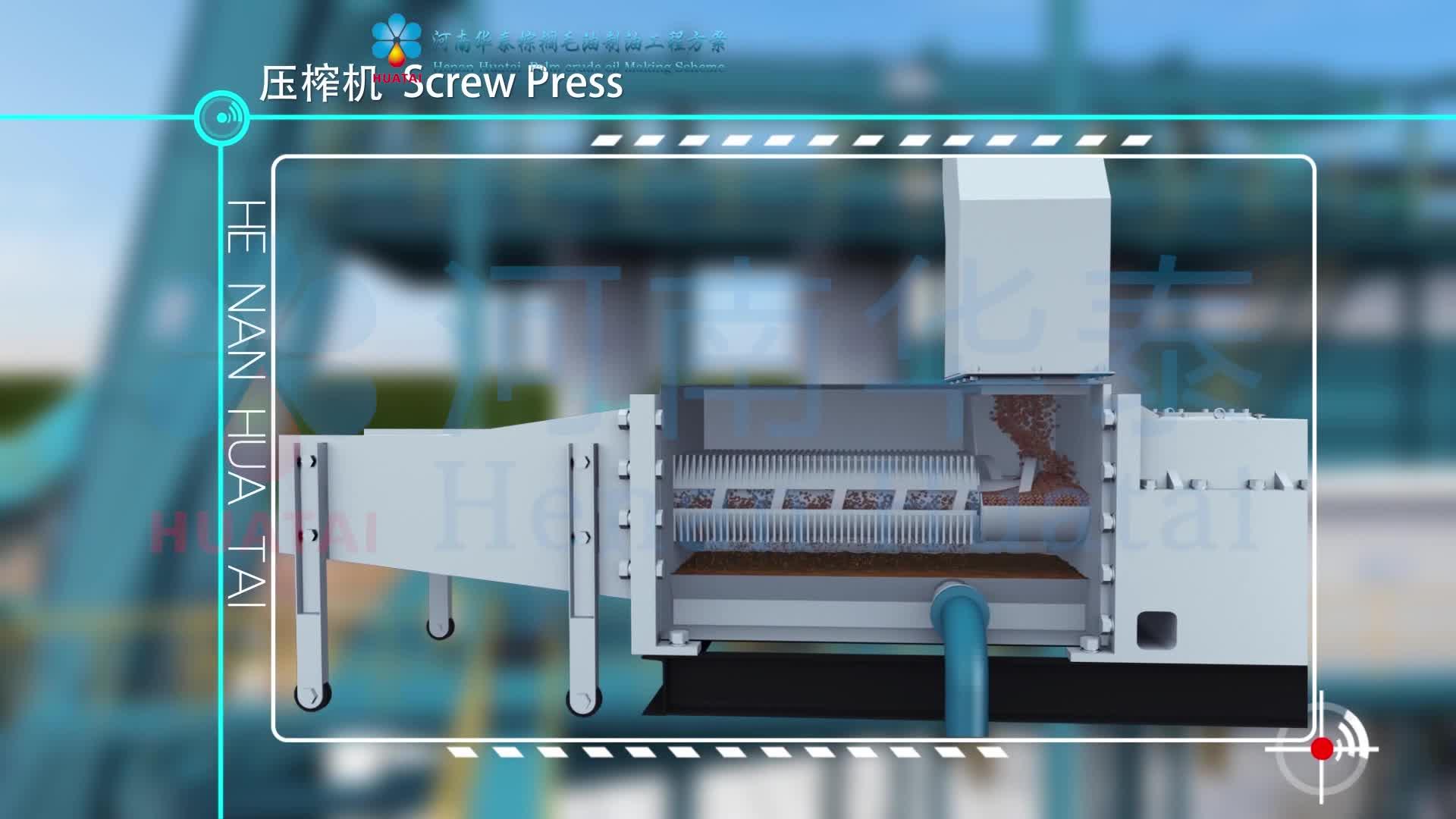 Plam Obst Öl Presser/Palmfruchtöl Extraktion Maschine für verkauf