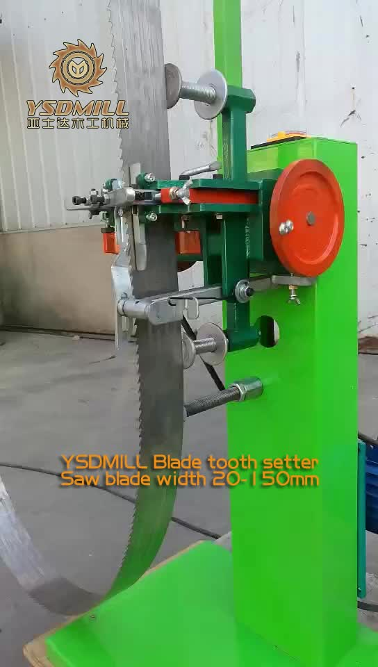 Hot Sales Electric Band Saw Blade Tooth Setter Machine