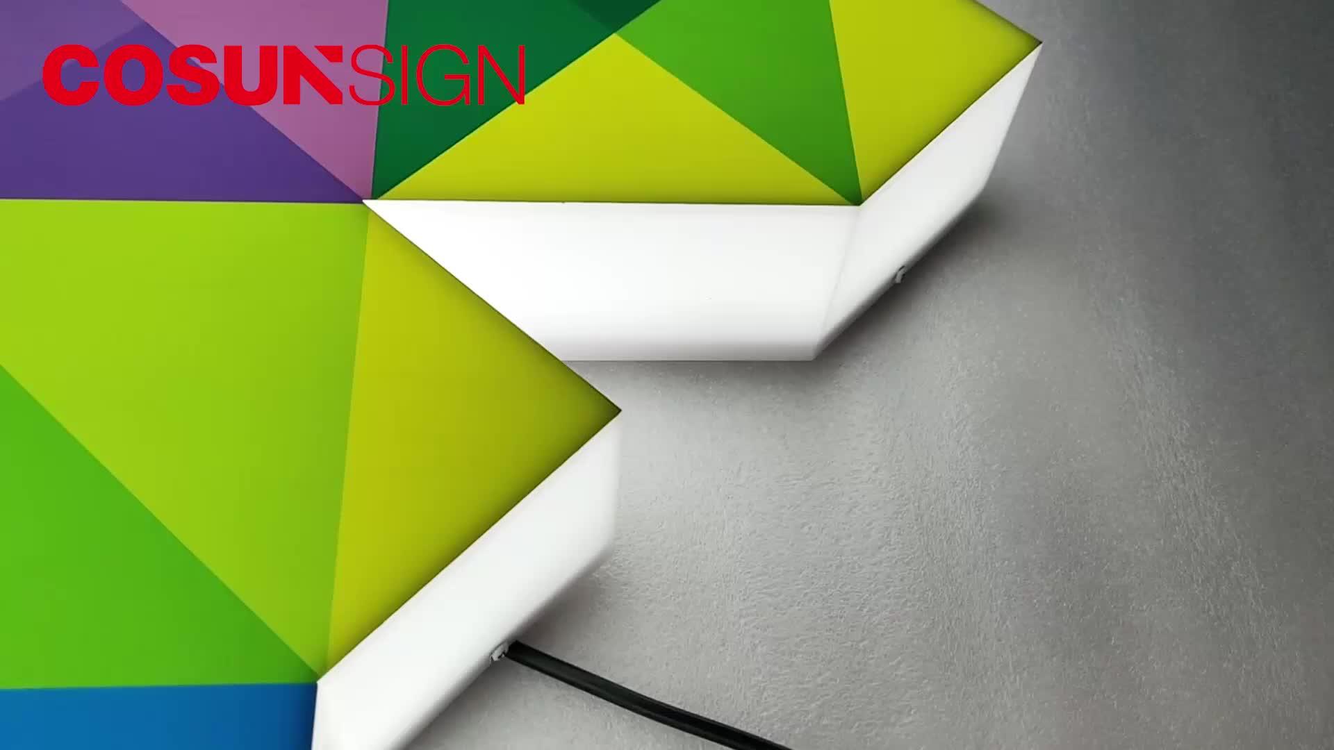 Acrylic Led Custom Sign Maker Light Up Letters