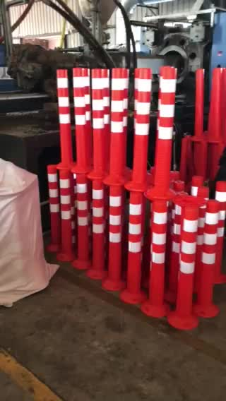 Road Safety Flexible Traffic Delineator Post
