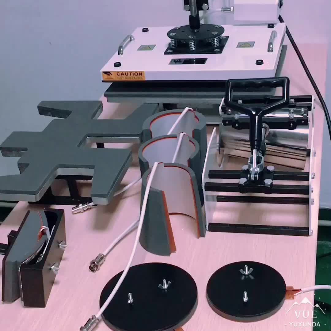 Yuxunda Sublimatie Perfect Automatische Hot Stamping Machine Voor Nummerplaat