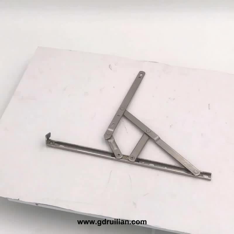 Pabrik Pasokan Adjustable Stainless Steel Square Jendela Groove Friction Stay Jendela Engsel