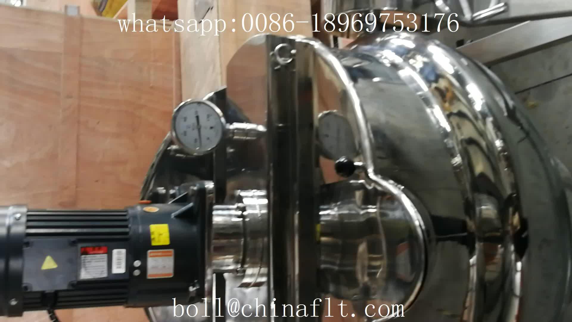 300 litros de aquecimento elétrico panela jacketed inclinação dupla com misturador