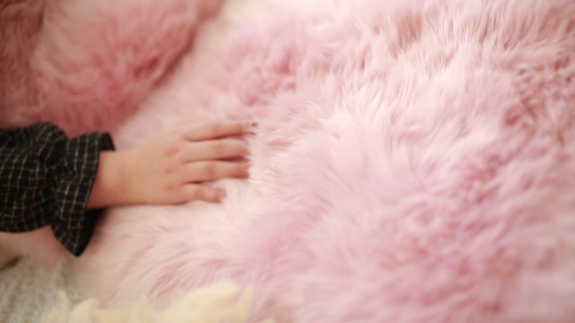 100% Australische schapenvacht tapijt wol bed bont deken shaggy tapijt