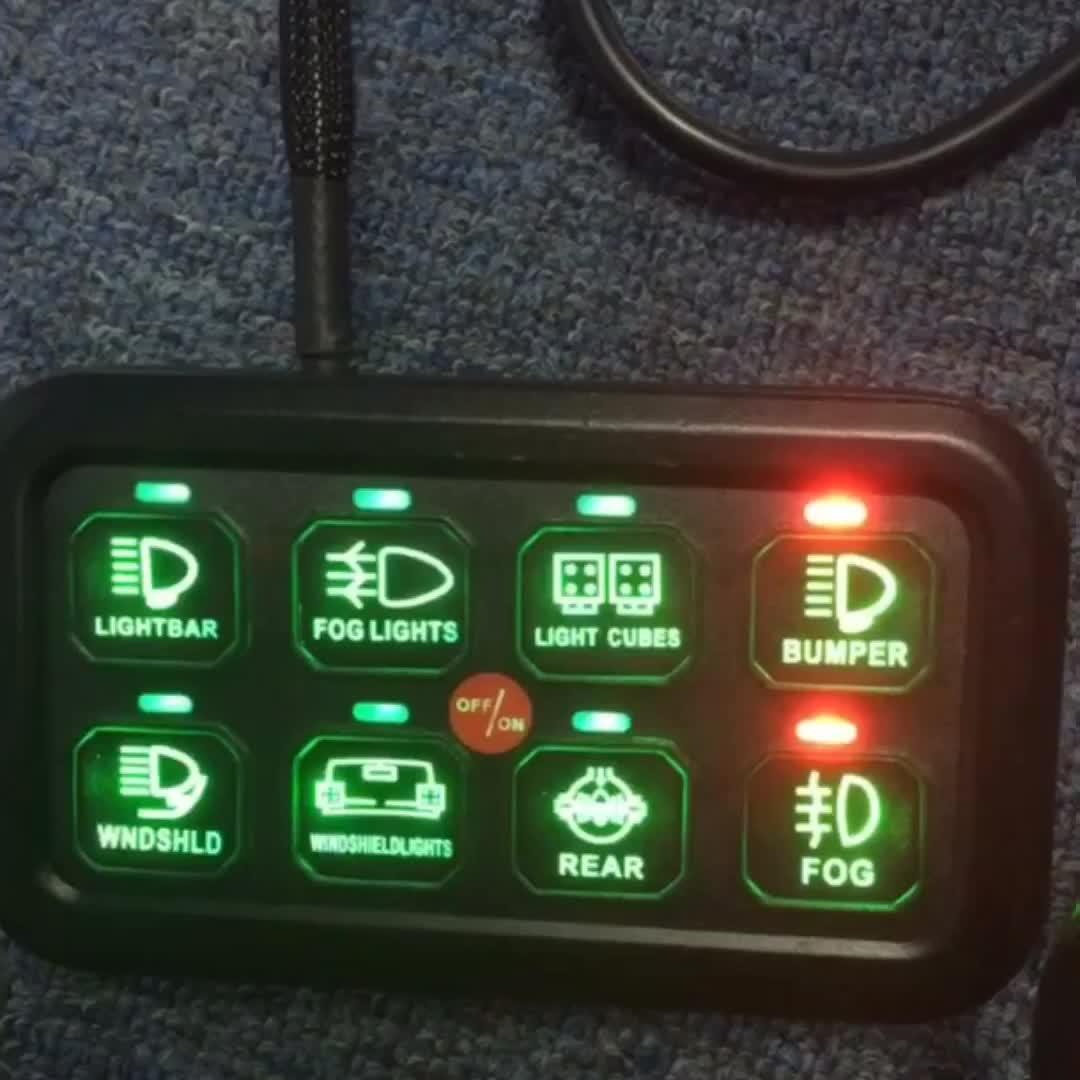 Panel interruptor basculante ligero todoterreno Universal para coche Atv