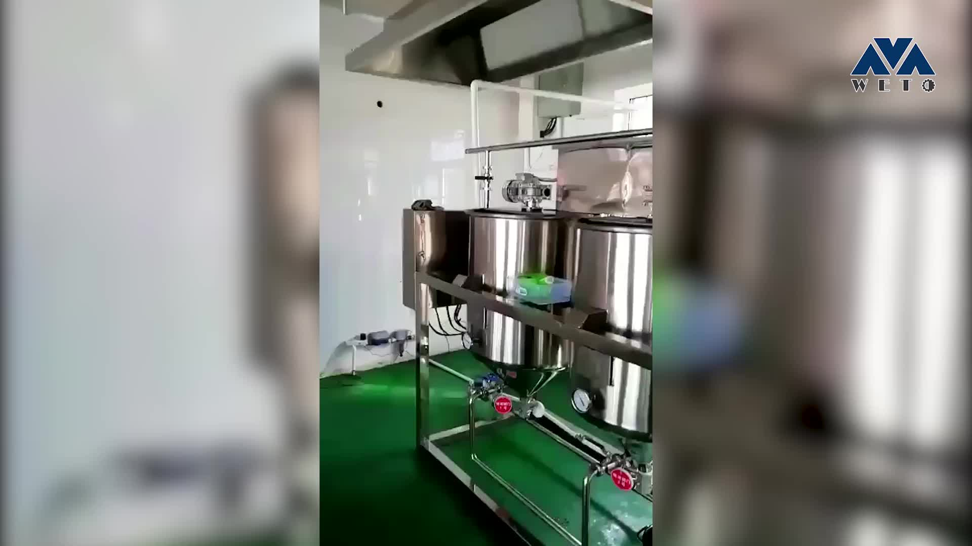 Newest design automatic RBD palm oil fractionation machine
