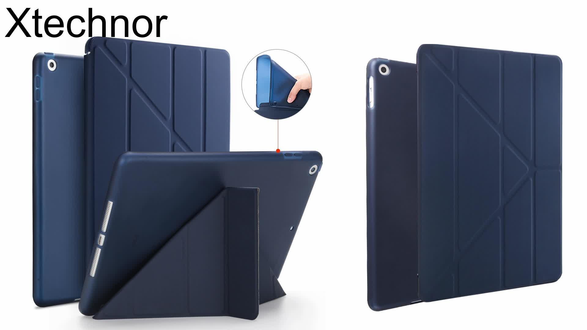 """Thông Minh Magnetic PU Leather Trường Hợp Bảng Mềm TPU Bìa Với Chống Sốc Chức Năng Cho Ipad 10.2 """"Inch"""