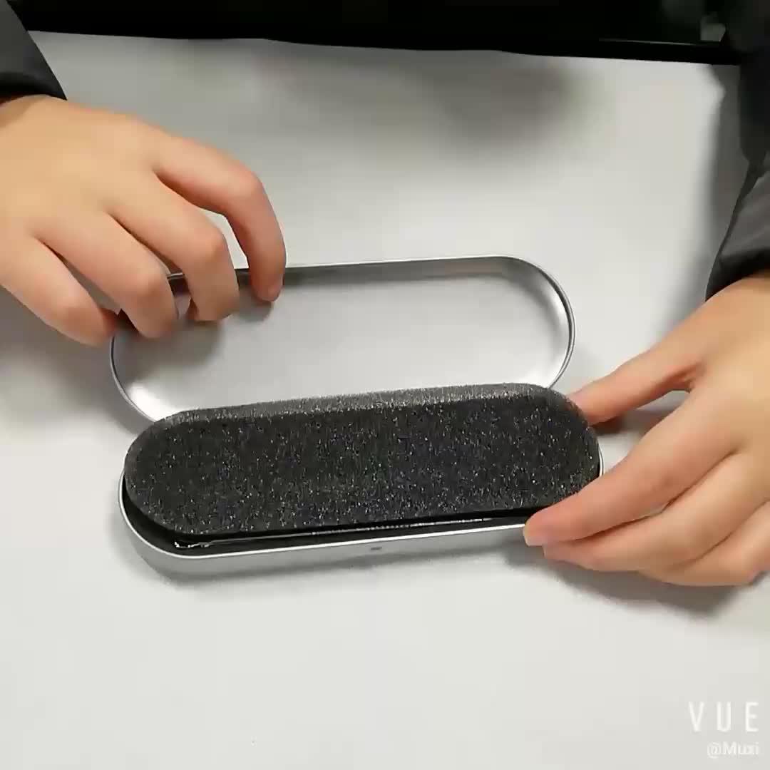 5 pcs नि: शुल्क नमूने स्टेनलेस स्टील दाना मुँहासे धब्बा हटाने उपकरण धातु मामले के साथ सेट