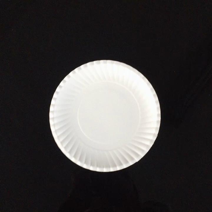 Tek kullanımlık kağıt kek tabakları kağıt tabaklar parti için ucuz toptan yemek tabakları parti tepsileri