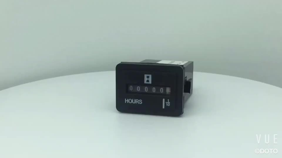 New Sys-3 Quartz Mechanical Timer counters electronic timer ac 220v hour meter counter for industrial Engine