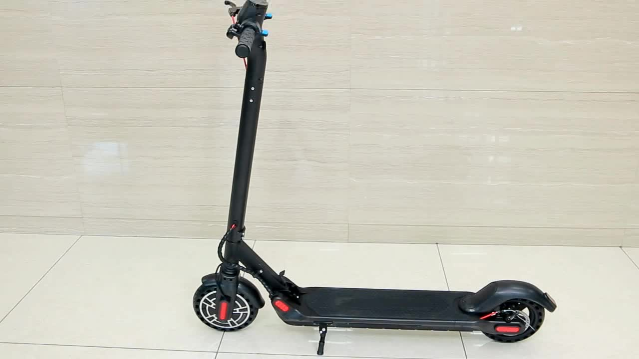 """8"""" inch 36V mi Adult foldable Electric Scooter with two wheel"""