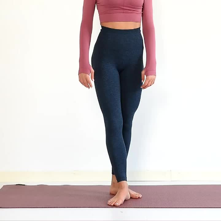 Fitness Gym Seamless Tights for Women High Waisted Workout Leggings
