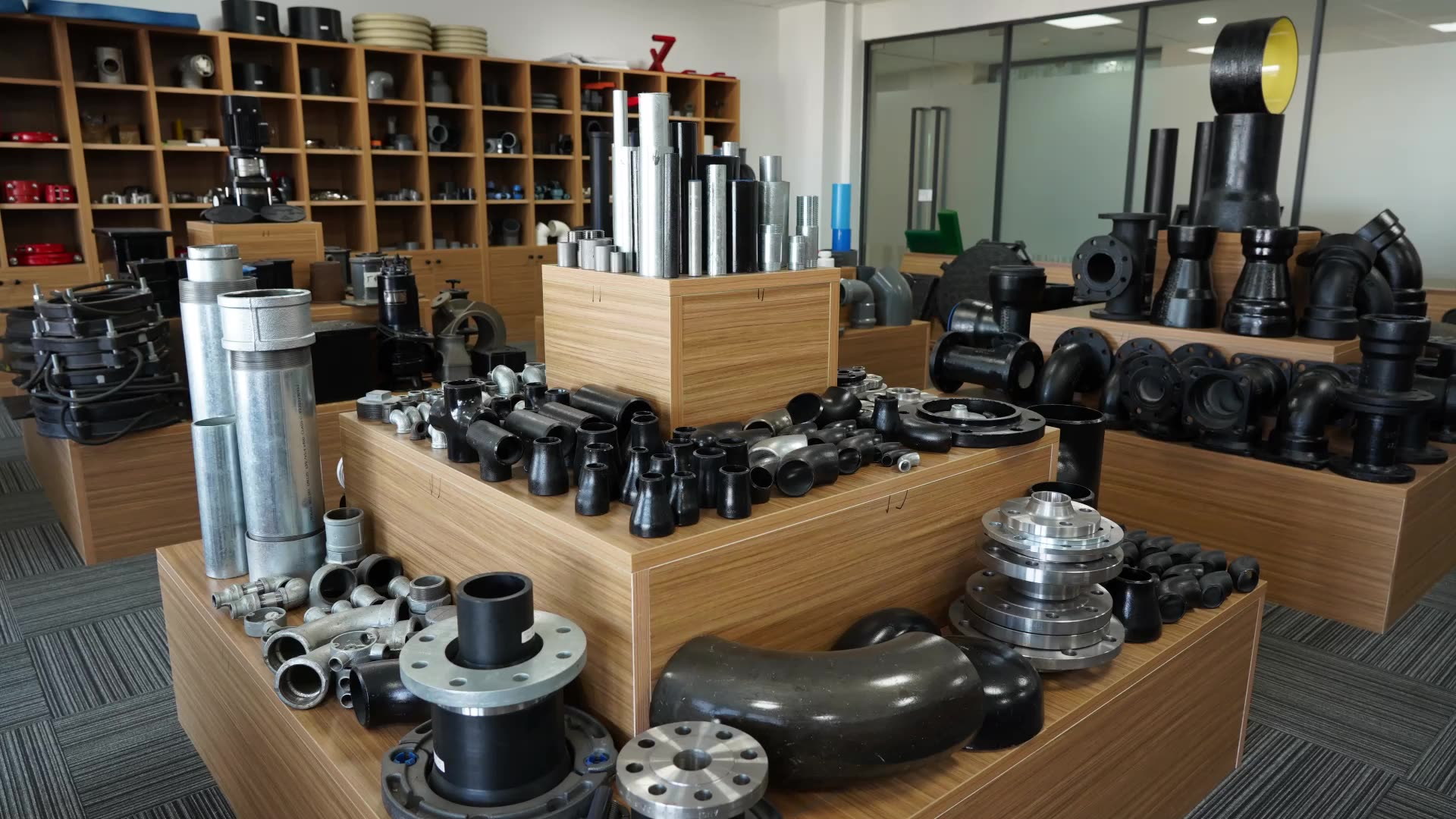 Manufacturer ASTM A234 WPB Butt-welding Carbon Steel Pipe Fittings