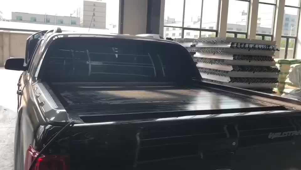 Novo! Caminhão de controle remoto elétrico cama capa alimentado retrátil tonneau capas para hilux revo 4x4 acessórios exteriores