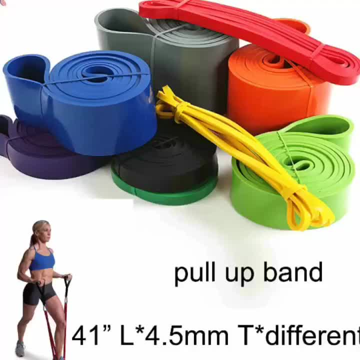Colorful Aerobic Accessories Resistance Loop Band A-PB32 Fitness Equipment Used Home GYM