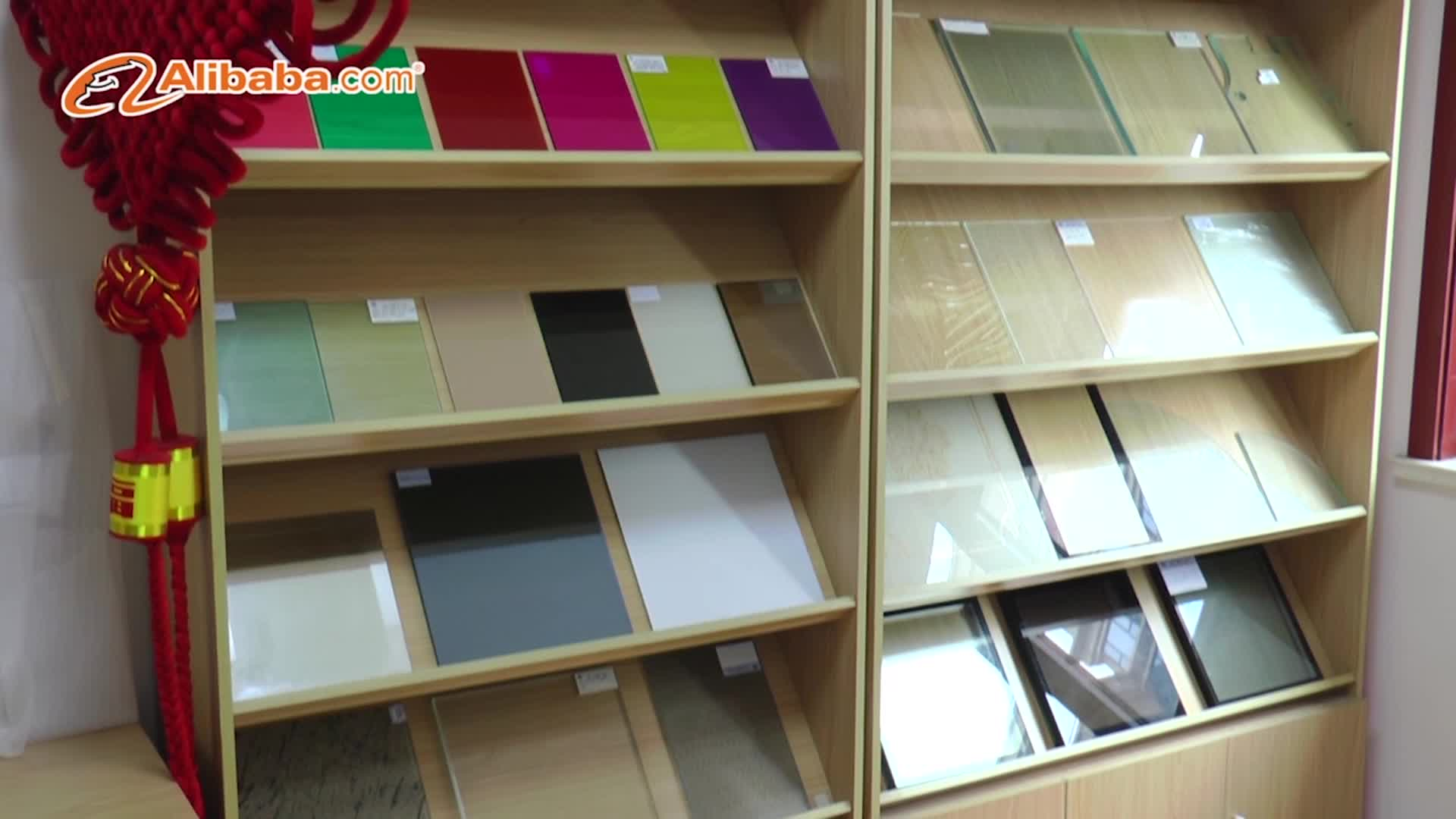 12mm color reflective laminated glass windows