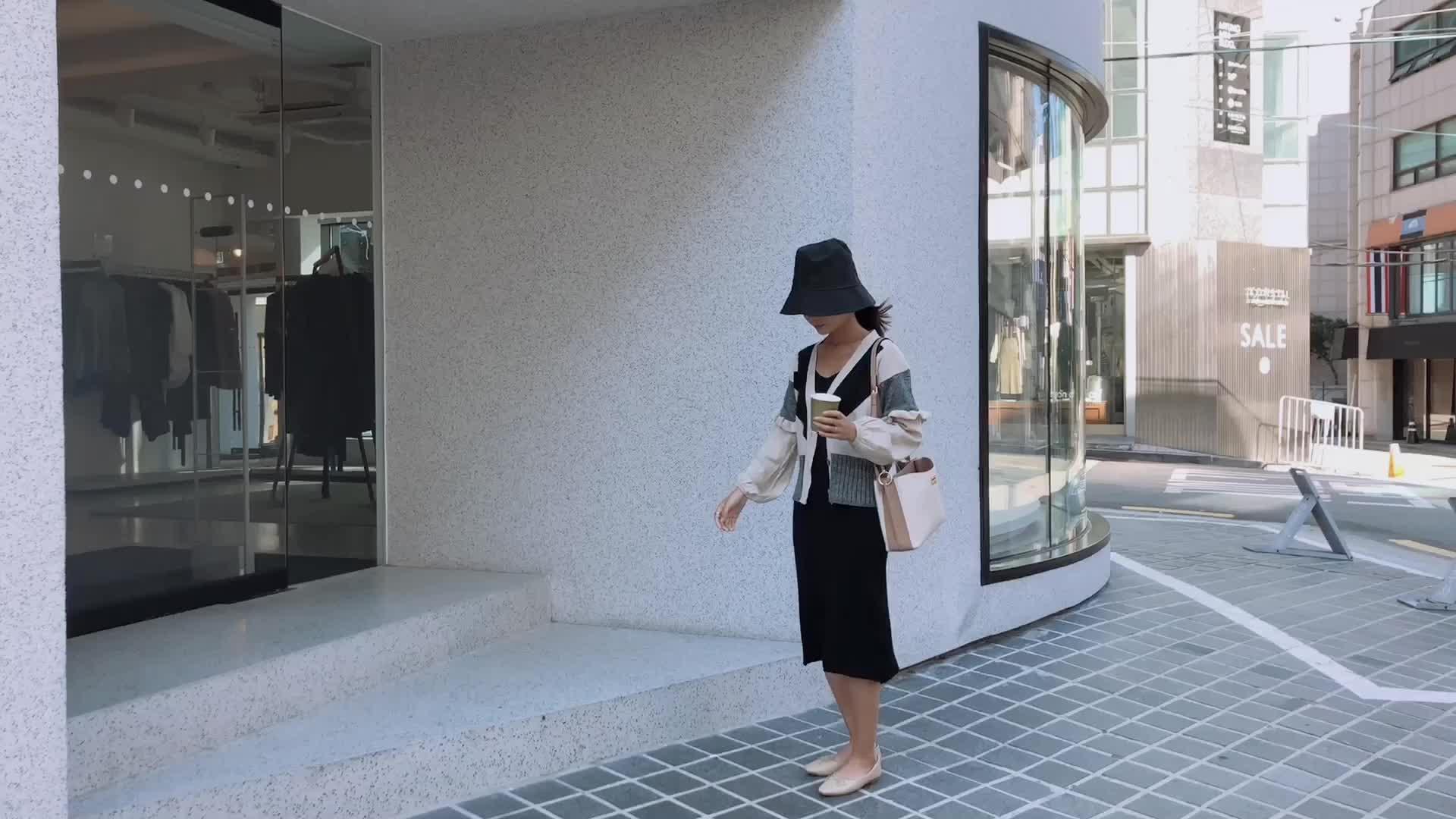 2018少女心学院风针织开衫女V领毛衣外套长裙两件套时髦套装F5475
