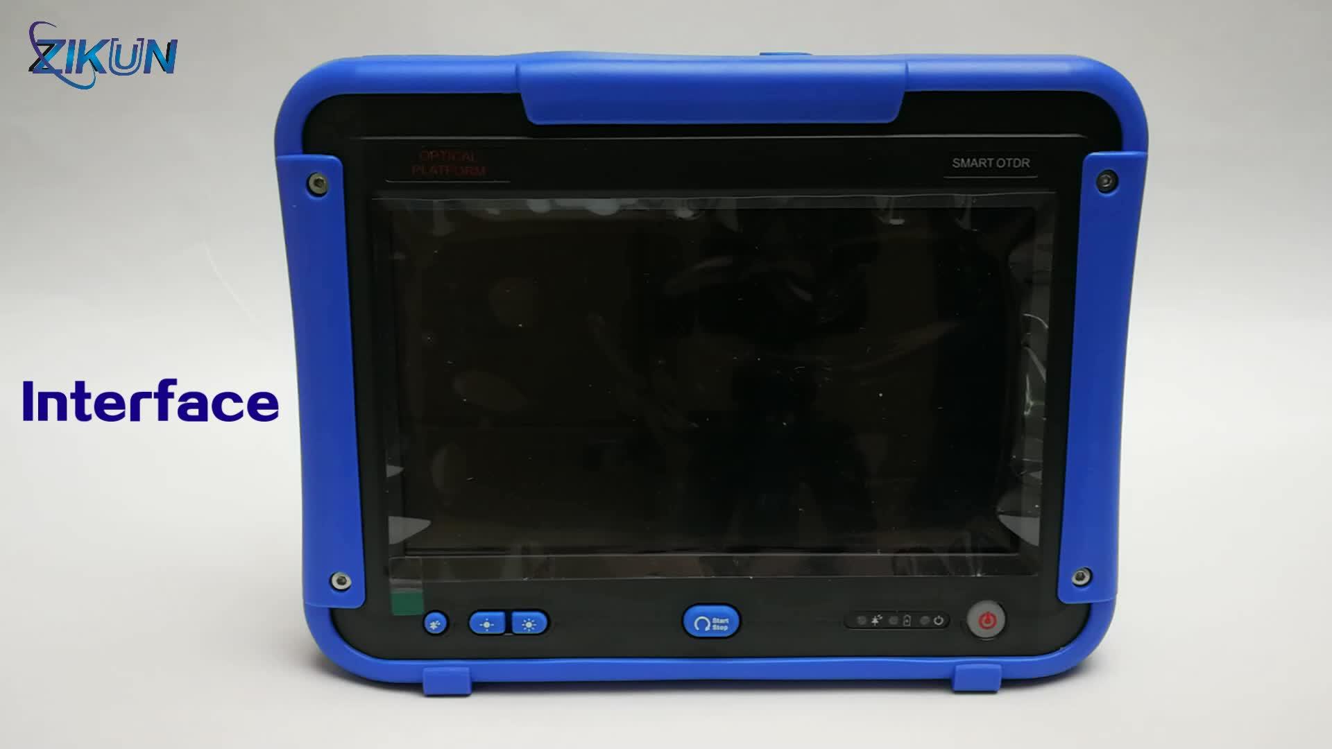 Exfo Maxtester OTDR MAX-720c 터치 스크린 패널