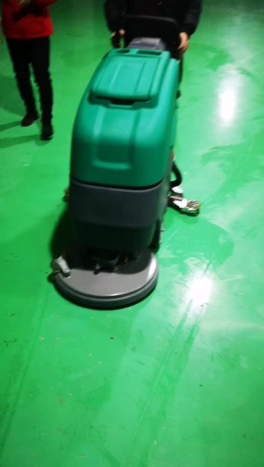 Commerciale pavimento di legno cleaner scrubber attrezzature