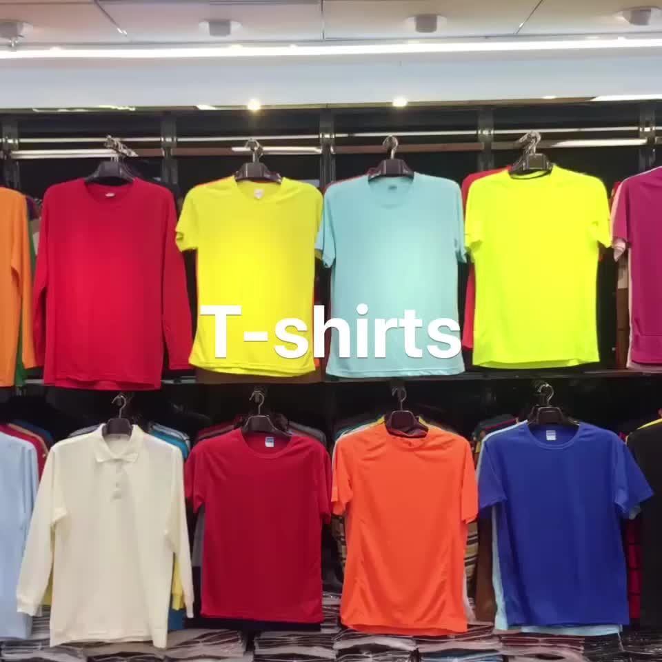 FREE SAMPLE 2020 new product custom clothes plain t-shirt wholesale
