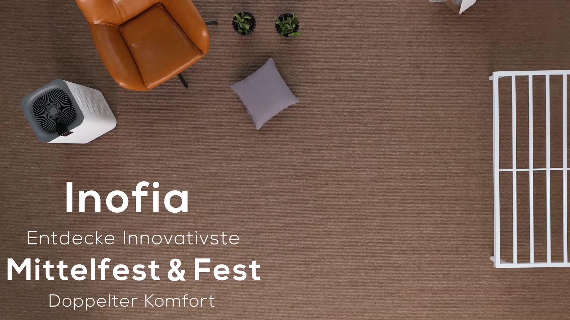 Inofia Good Quality Factory Directly Ripple Beautyrest Mattress Queen Size Bed  Mattress