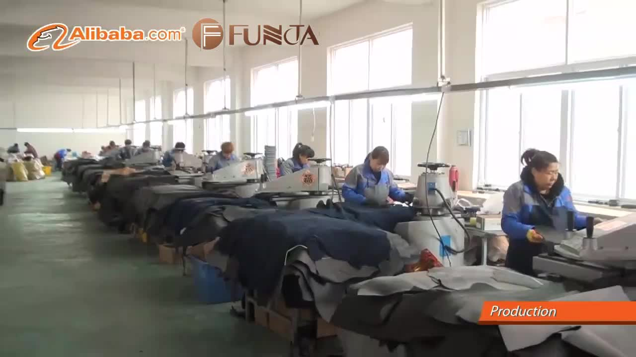 FUNTA Latest deign brand China suede leather Steel toe metal free breathable safety sport shoes
