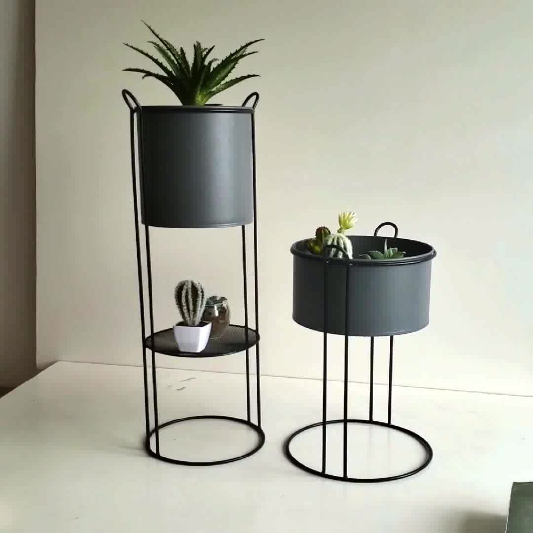 High Quality Adjustable 100% Natural Bamboo Plant Stand Indoor For Home