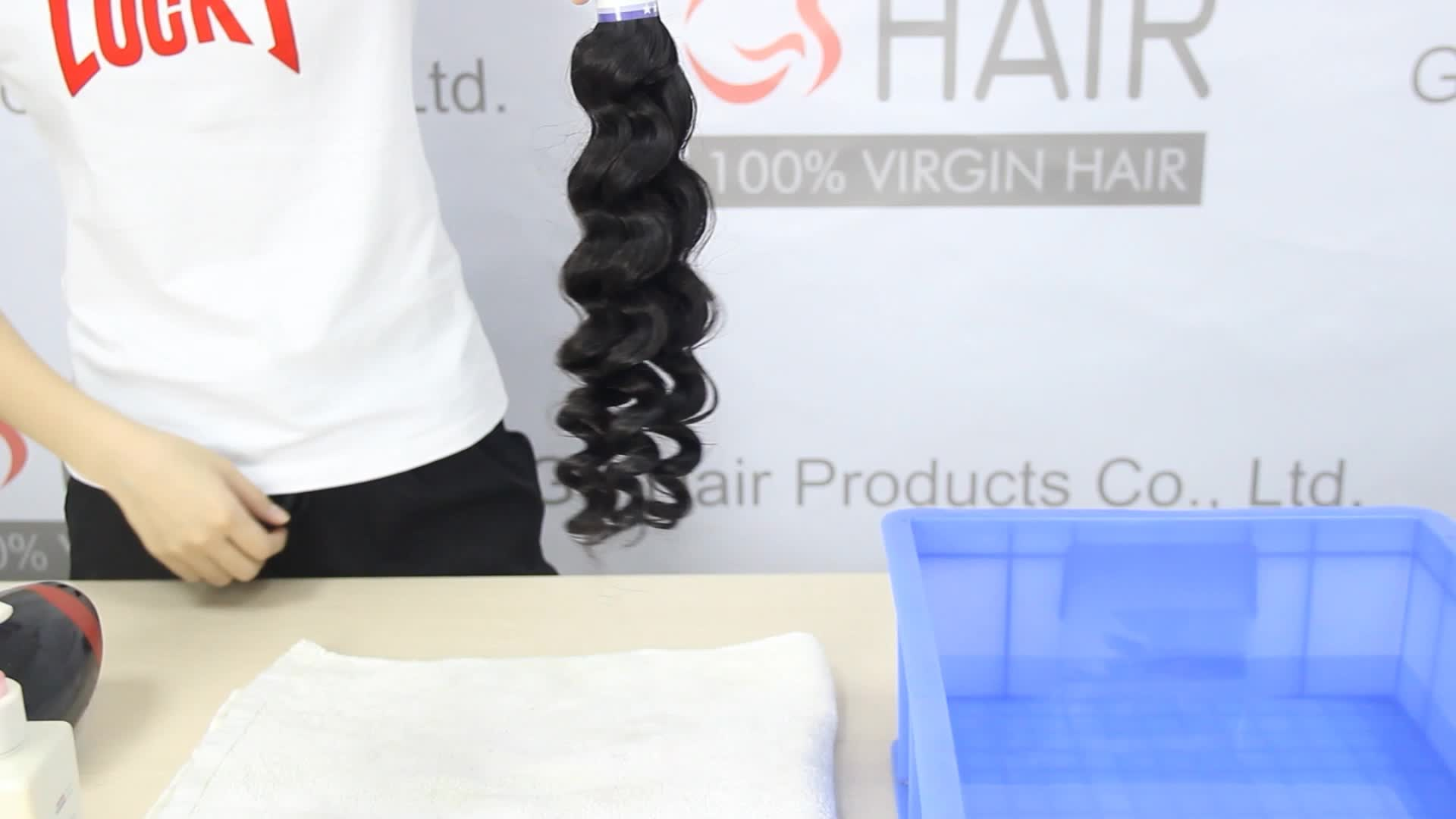 Drop shipping online Wholesale Virgin Human Hair Extension straight Brazilian Hair 3 Bundles With Lace Closure With Baby Hair