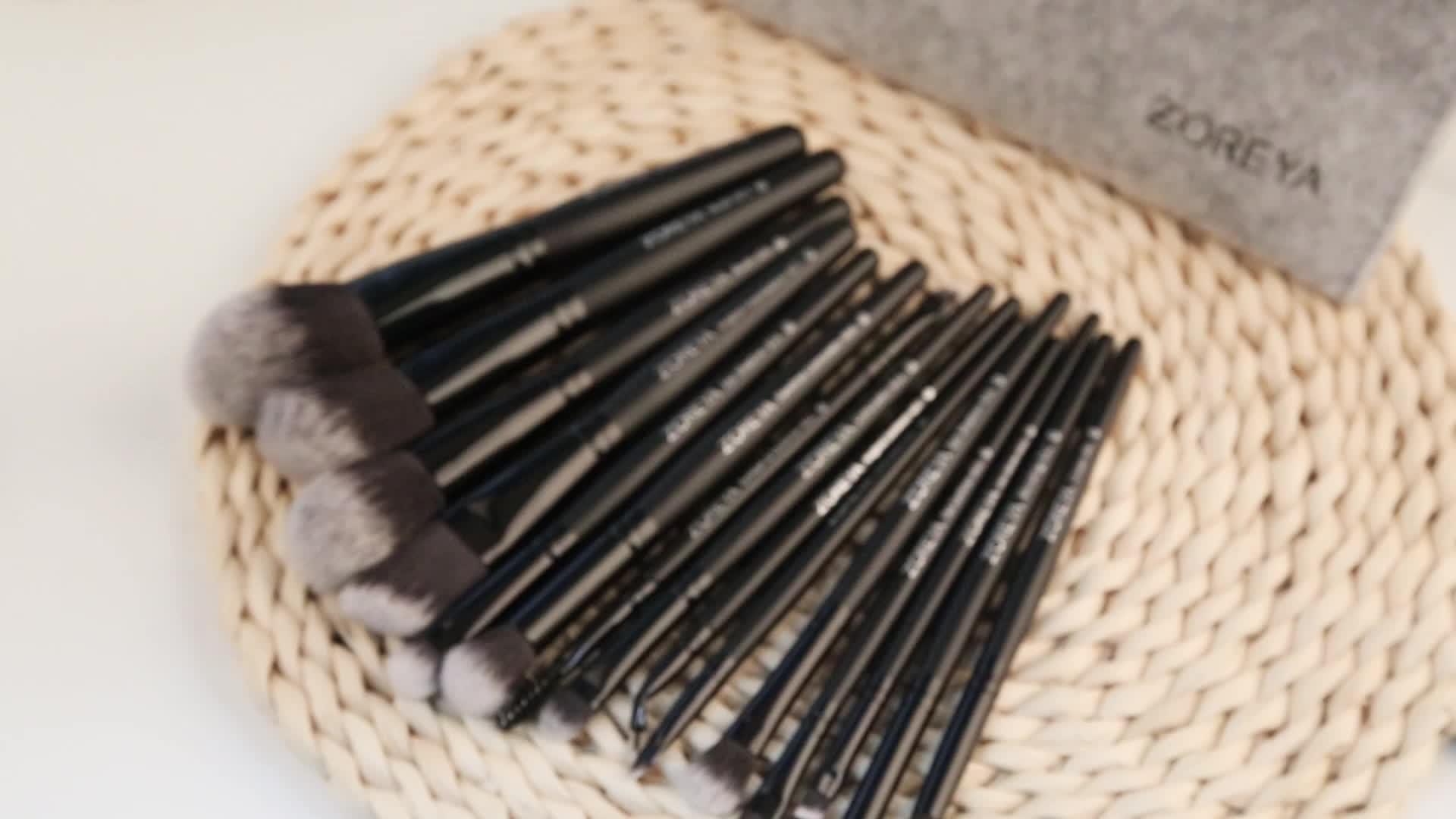 2019 핫-sale) 저 (Low) MOQ black handle 비건 메이 컵 브러쉬 메이 컵