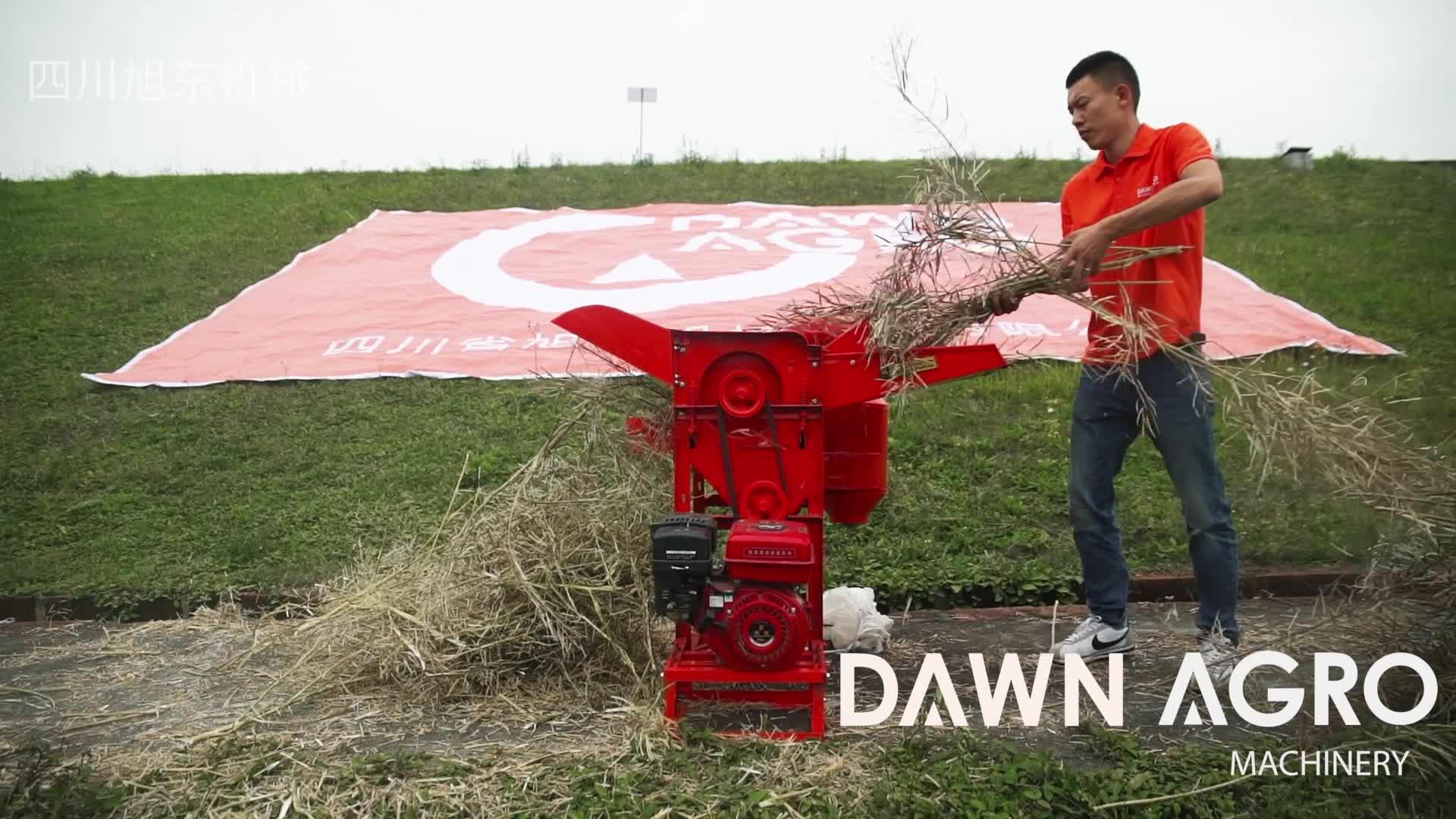 ŞAFAK AGRO Ev Yapımı Çeltik Harman Soya Hasat Makinesi