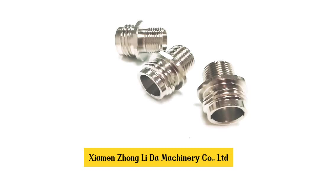 China Supplier Threaded Copper Hose  Union Aluminum Nipple Brass Connector Coupling Reducer Stainless Steel Brass Fittings