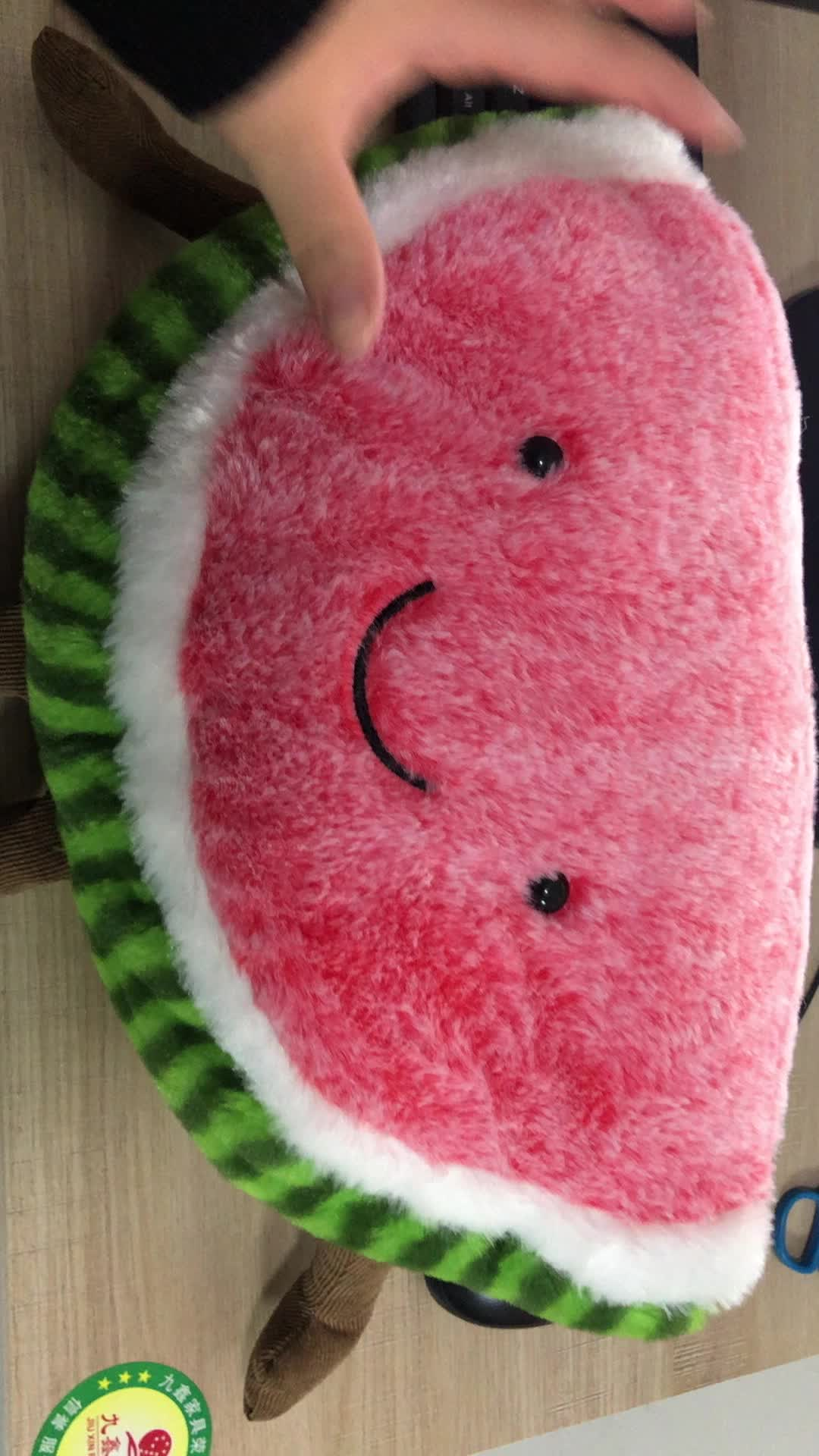 Lovely Vegetable Soft toy Watermelon cartoon plush watermelon toy Fruit doll For Kids
