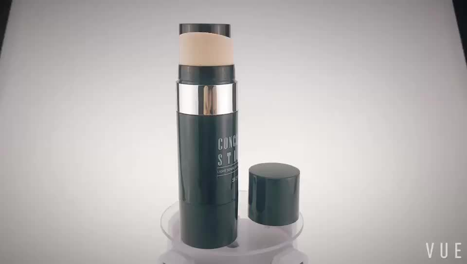 custom color empty cosmetic packaging CC stick concealer tube for sale