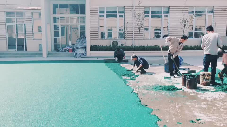 various color swimming pool rubber granule/epdm rubber flooring for hallway
