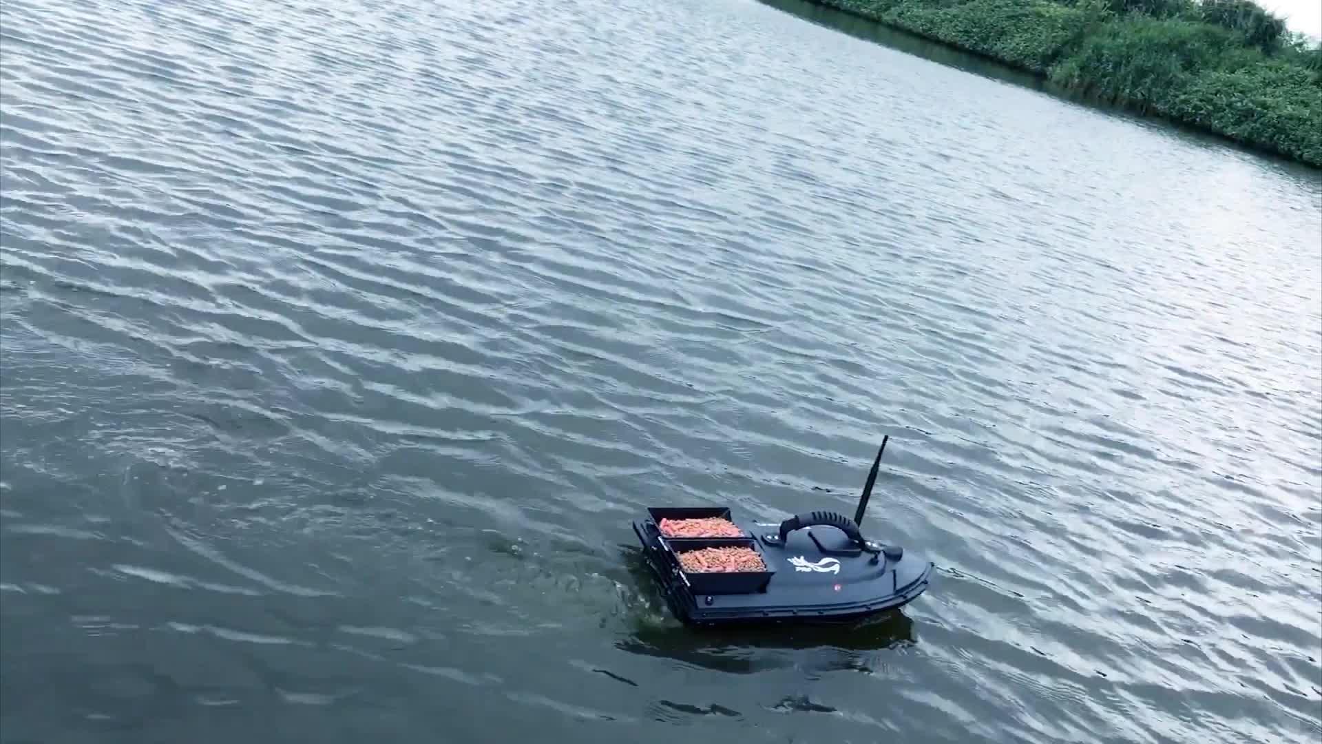 Flytec atualizado v500 rc isca de pesca com controle remoto de 500 m e controlador de função completa para pesca de entrega inteligente