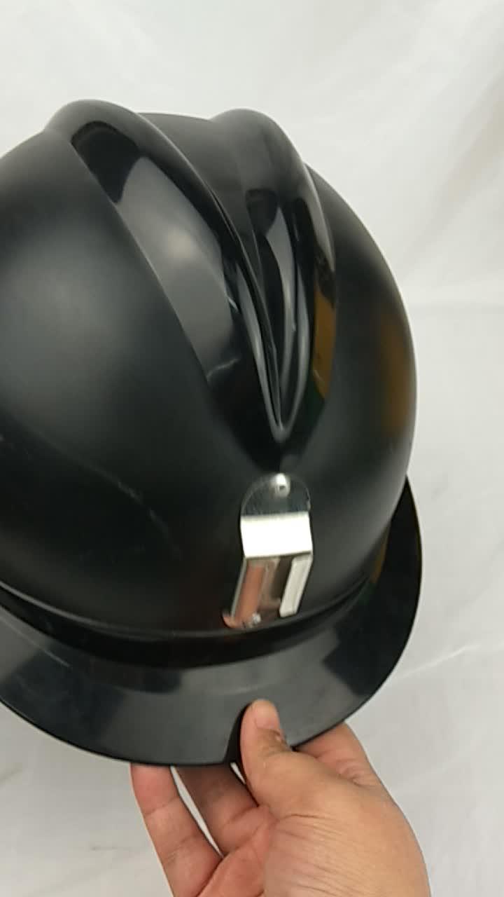 Slagvast Mijnbouw Helm Met Kleur
