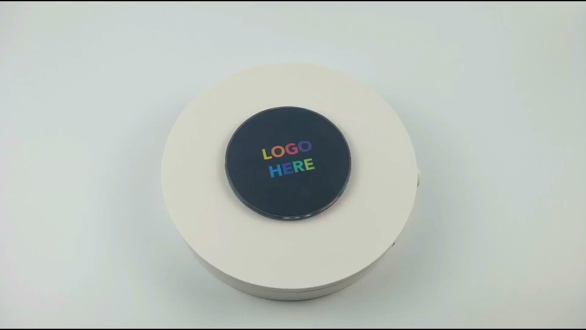 Light Up Logo 10W Wireless Veloce Caricatore 2020 di Vendita Caldo Universale Portatile Qi Del Telefono Senza Fili di Ricarica Per Iphone