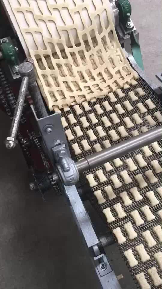 Automatische 100Kg Per Uur Biscuit Making Machine Productielijn