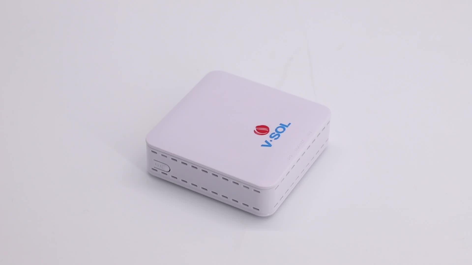 FTTH Realtek chipset 1GE gepon/epon onu with Huawei/ZTE OLT
